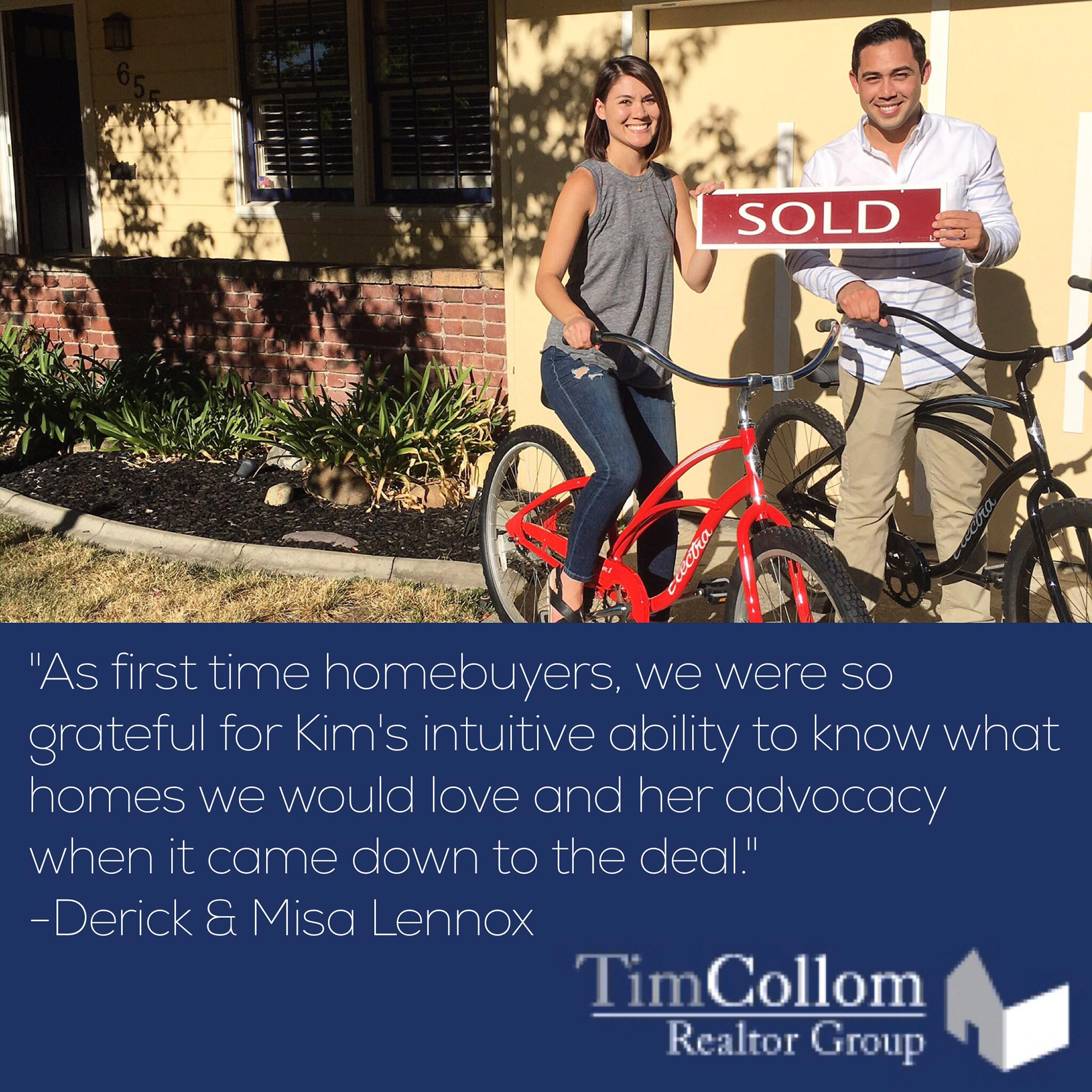 Tim Collom Realtor Group Testimonials